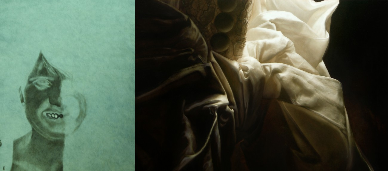 UV file - Blanka Valcharova 2011, oil on canvas, 75 x 115 et 150 x 115 cm - diptych, national gallery in prague